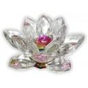Фън Шуй Лотос - Голям (кристал ,цветен)