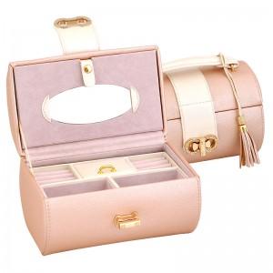 Луксозна Кутия за Бижута - Пепел от рози - New Wish