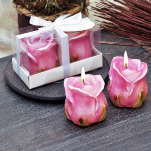 Комплект Свещи - Роза