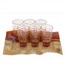 Monna Glass Чаша за Вода и Безалкохолни Напитки - Brown