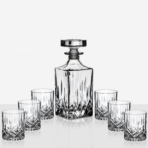 DaVinci Crystal Комплект Бутилка и Чаши за Уиски - Opera