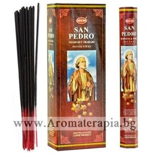 Ароматни Пръчици - Свети Петър (San Pedro) HEM Corporation