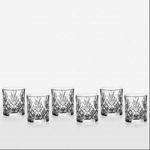DaVinci Crystal Луксозен Комплект Чаши за Уиски - Melodia