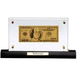 Златна Банкнота - Репродукция Долар