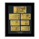 Златни Банкноти - Репродукция Евро
