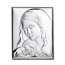 Икона Сребро Мадоната с младенеца