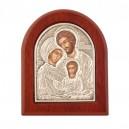 Икона Св. Семейство - Сребро