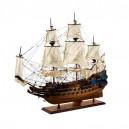 Детайлен Макет на Кораб Васа