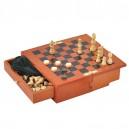Луксозен Комплект Шах и Табла (Vertini Italy)