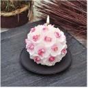 Фън Шуй Свещ - Орхидея (топка)