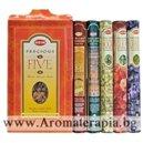 Ароматни Пръчици - Комплект Пет Безценни Аромата (Five Gift Pack Incense) HEM Corporation