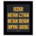 Златни Банкноти - Репродукция Долари